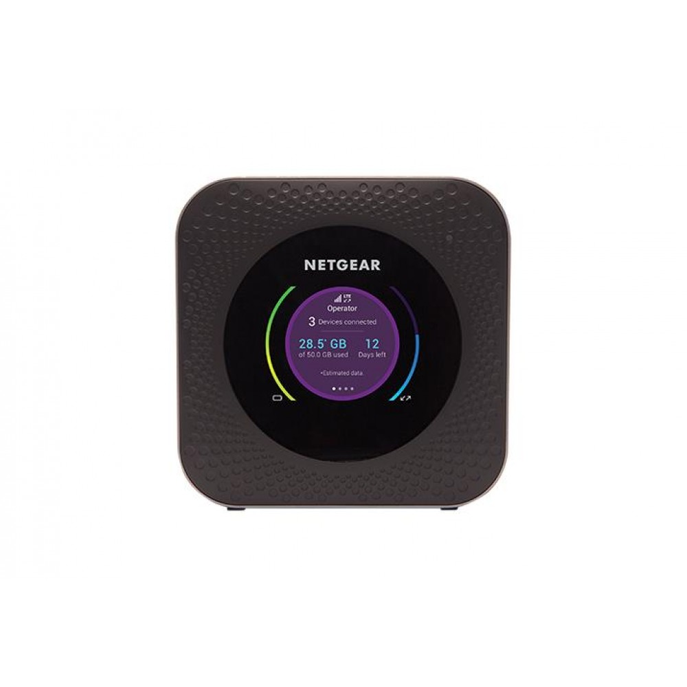 Маршрутизатор Netgear MR1100 (MR1100-100EUS) (AC1000, 4G LTE, 1xGE LAN, 1xUSB-C, 1xUSB 2.0, 2xTS)