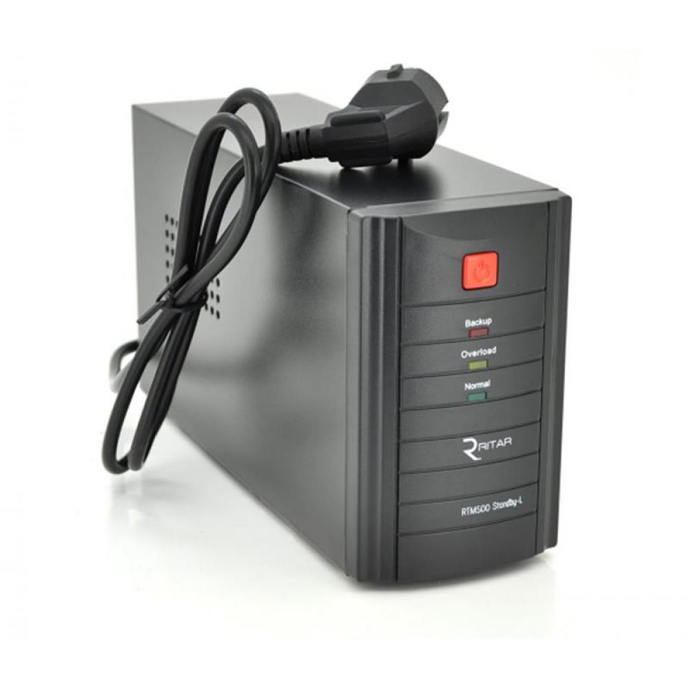ИБП Ritar RTM1000 Proxima-L 600W, Lin.int., AVR, 3xSchuko, металл (RTM1000L/05857)