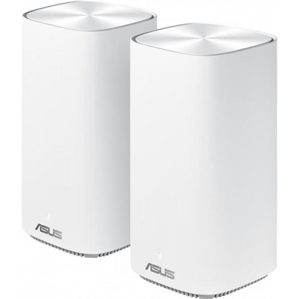 Беспроводной маршрутизатор Asus ZenWiFi Mini CD6 2PK White (AC1500, 1xGE WAN, 3xGE LAN,  4 антенны) (CD6-2-PK)