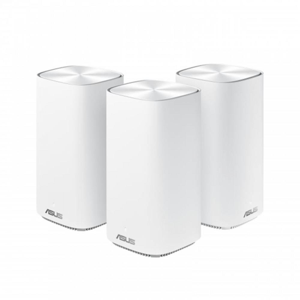 Беспроводной маршрутизатор Asus ZenWiFi Mini CD6 3PK White (AC1500, 1xGE WAN, 3xGE LAN, 4 антенны) (CD6-3-PK)