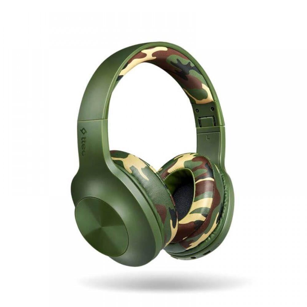 Bluetooth-гарнитура Ttec SoundMax 2 Green Camouflage (2KM131YK)