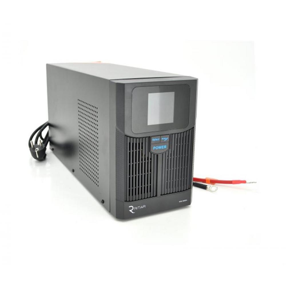 ИБП Ritar RTSW-1500 LCD, Lin.int., 2xSchuko, металл (RTSW-1500 LCD/08331)