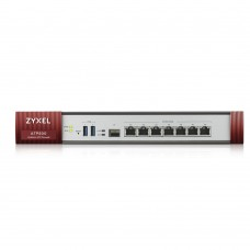 Межсетевой экран ZYXEL ZyWALL ATP500 (ATP500-EU0102F) (7xGE WAN/LAN, 2хUSB3.0, 1xSFP, AP Controller (8/72), Device HA Pro, Sandbox и Botnet Filter, с подпиской Gold на 1 год (полный UTM-функционал, SecuReporter и управление 72 AP))