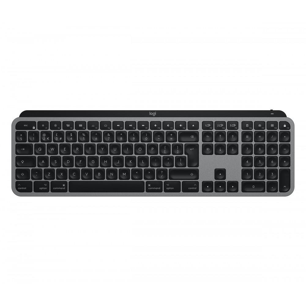 Клавиатура Logitech MX Keys Wireless for Mac Space Gray (920-009558)