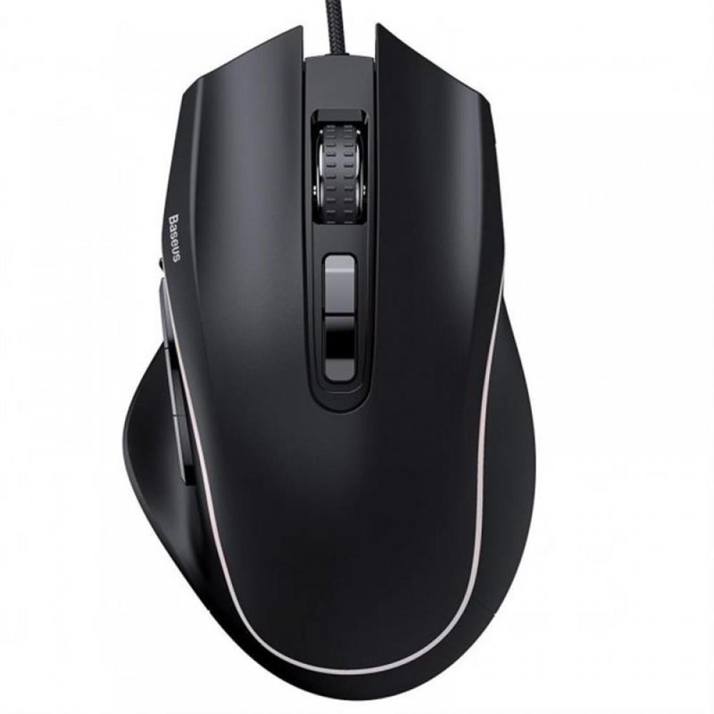 Мышь Baseus Gamo 9 (GMGM01-01) Black USB