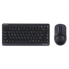 Комплект (клавиатура, мышь) беспроводной A4Tech FG1112 Black USB