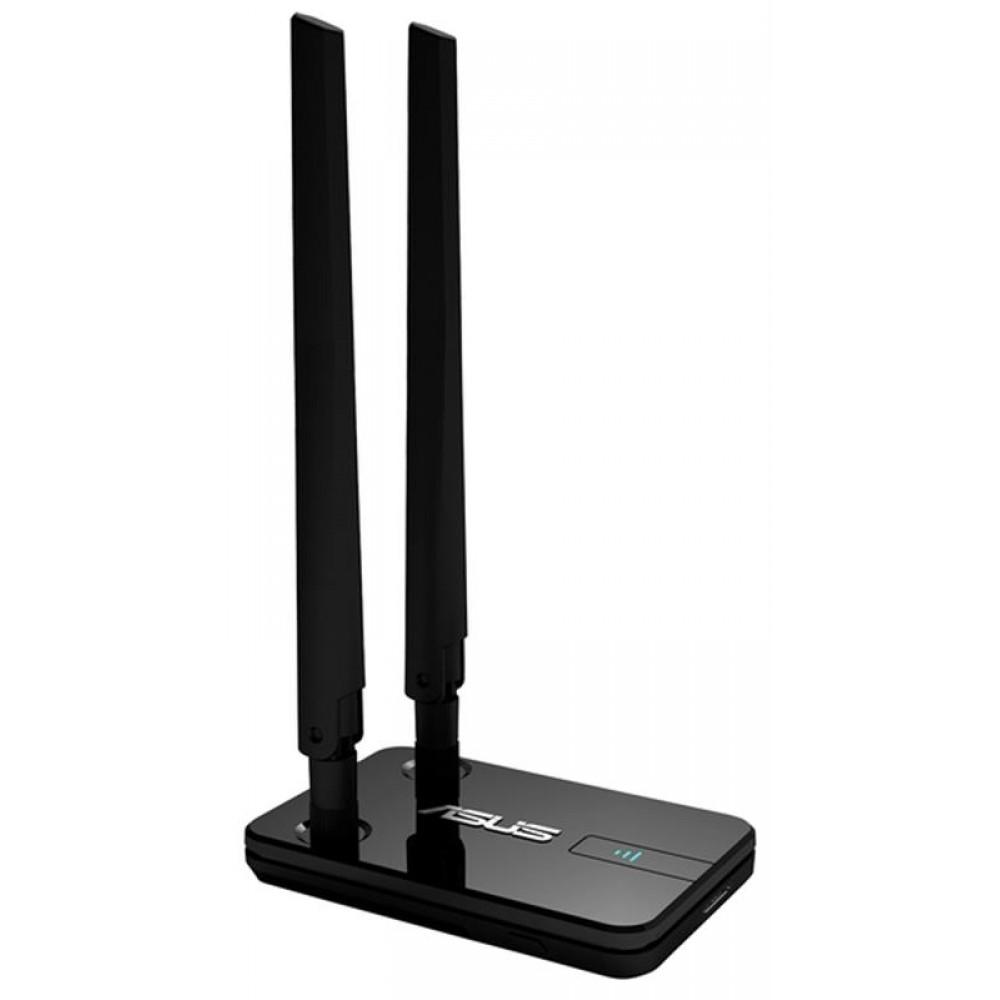 Беспроводной адаптер Asus USB-AC58 (AC1300, USB3.0, WPA3, 2 съёмные внешние антенны)