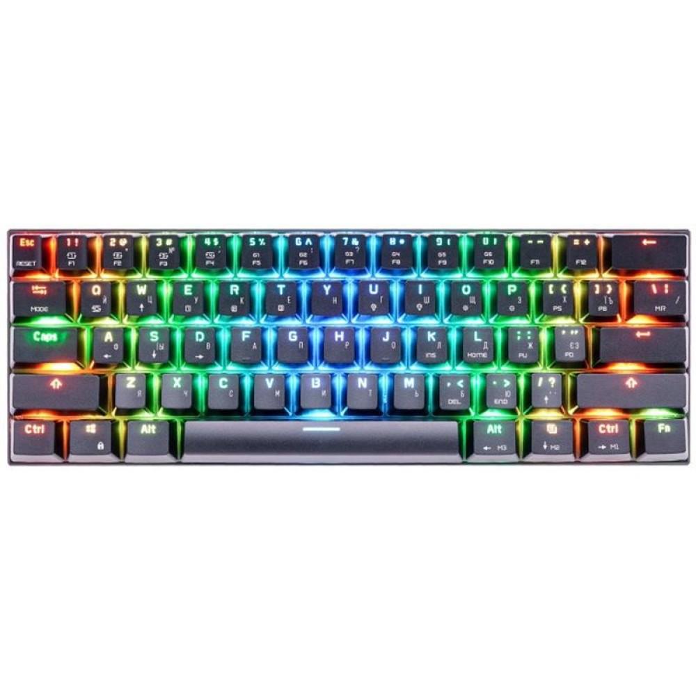 Клавиатура Motospeed CK62 Outemu Red (mtck62bmr) Black USB
