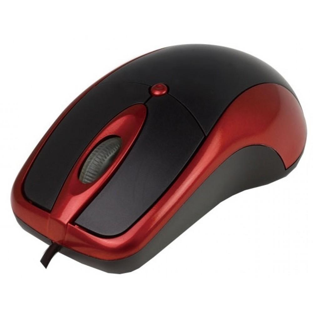 Мышь Aneex E-M841 Black/Red USB