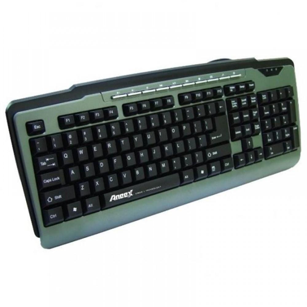 Клавиатура Aneex E-K952 Black USB