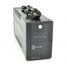ИБП Ritar RTP600-U Proxima-L 360W, Lin.int., AVR, 2xSchuko, пластик (RTP600L-U/07861)