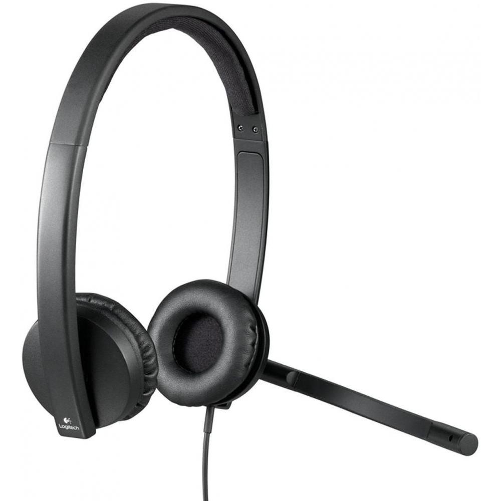 Гарнитура Logitech H570e Headset USB (981-000575)