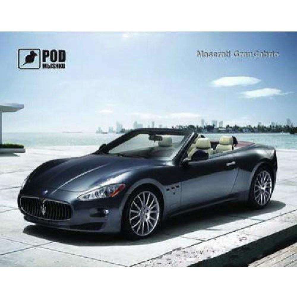 Коврик для мыши Podmyshku  Maserati GranCabrio