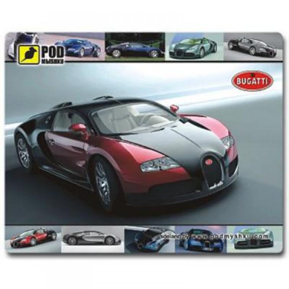 Коврик для мыши Pod Mishkou Bugatti