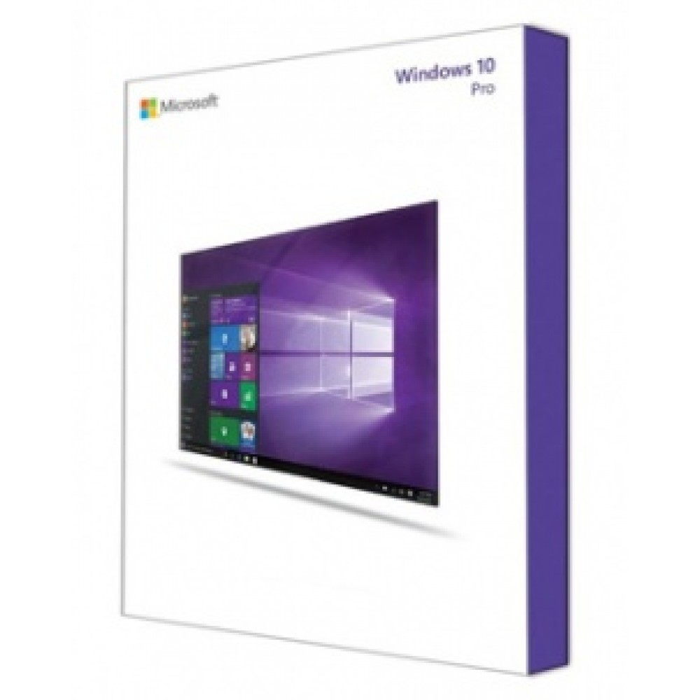MS Windows 10 Professional 64-bit Russian 1pk DSP OEI DVD (FQC-08909)