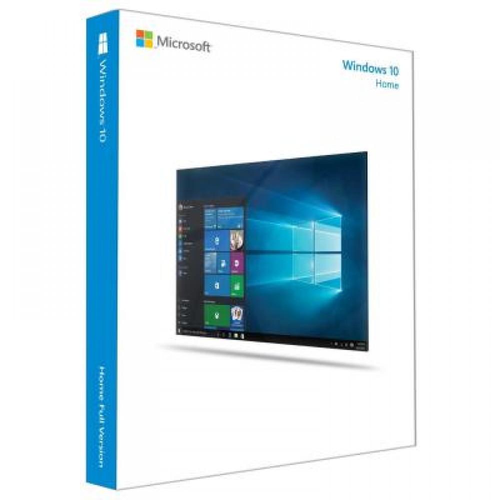 MS Windows 10 HOME 64-bit Russian 1pk DSP OEI DVD (KW9-00132)