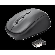 Мышь беспроводная Trust Yvi (18519) Black USB