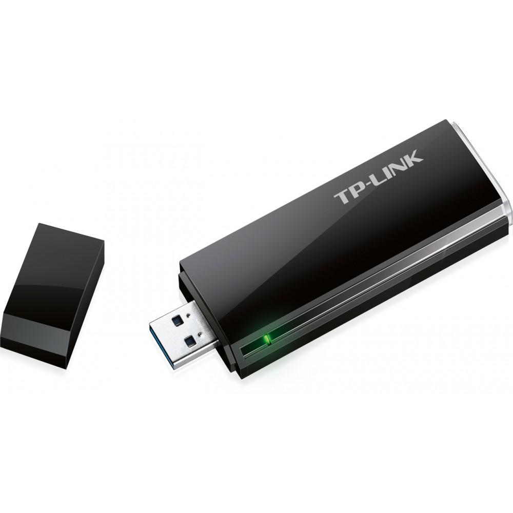 Беспроводной адаптер TP-Link Archer T4U (AC1300, MU-MIMO, USB3.0)