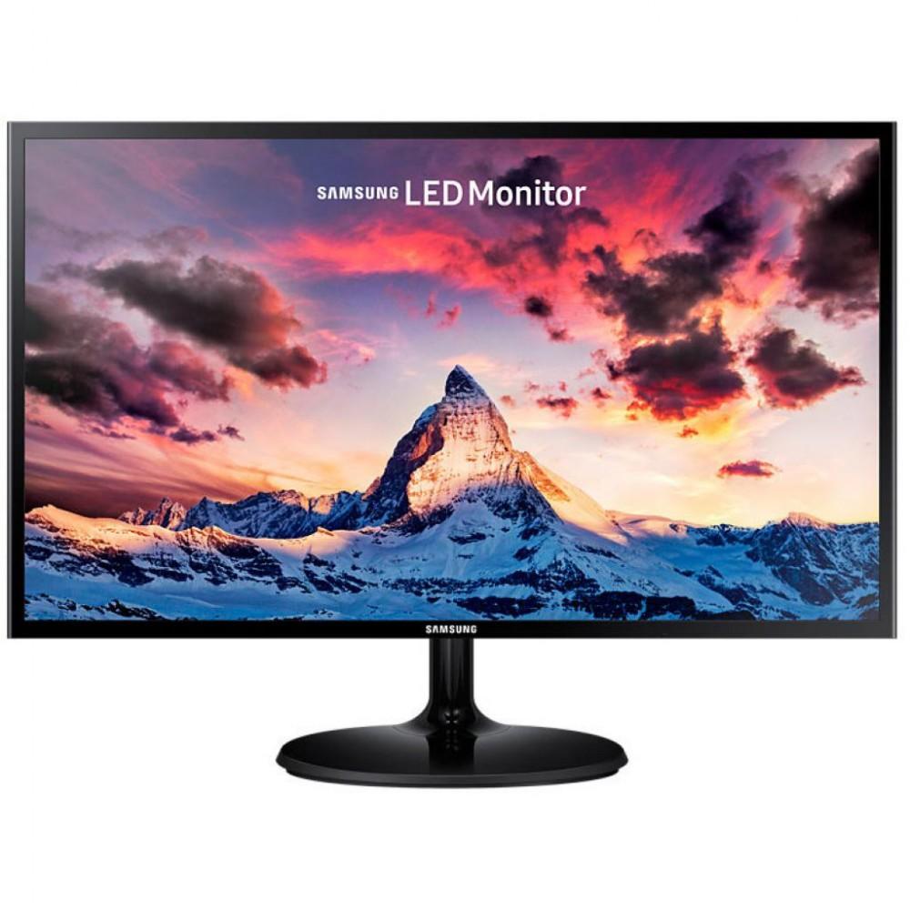 """Монитор Samsung 23.5"""" S24F350F (LS24F350FHIXCI) PLS Black; 1920x1080, 4 мс, 250 кд/м2, D-Sub, HDMI"""