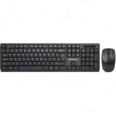 Клавиатура + мышь Defender Harvard C-945 KIT Black (45945) USB