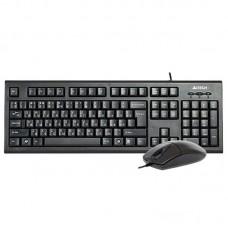 Комплект (клавиатура, мышь) A4Tech KR-8520D Black USB