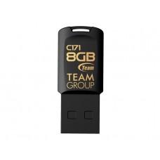 Флеш-накопитель USB  8GB Team C171 Black (TC1718GB01)