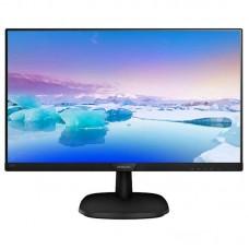 "Монитор Philips 23.8"" 243V7QDAB/01 IPS Black; 1920x1080, 250 кд/м2, 5 мс, DVI-D, D-Sub, HDMI, динамики 2х2Вт"