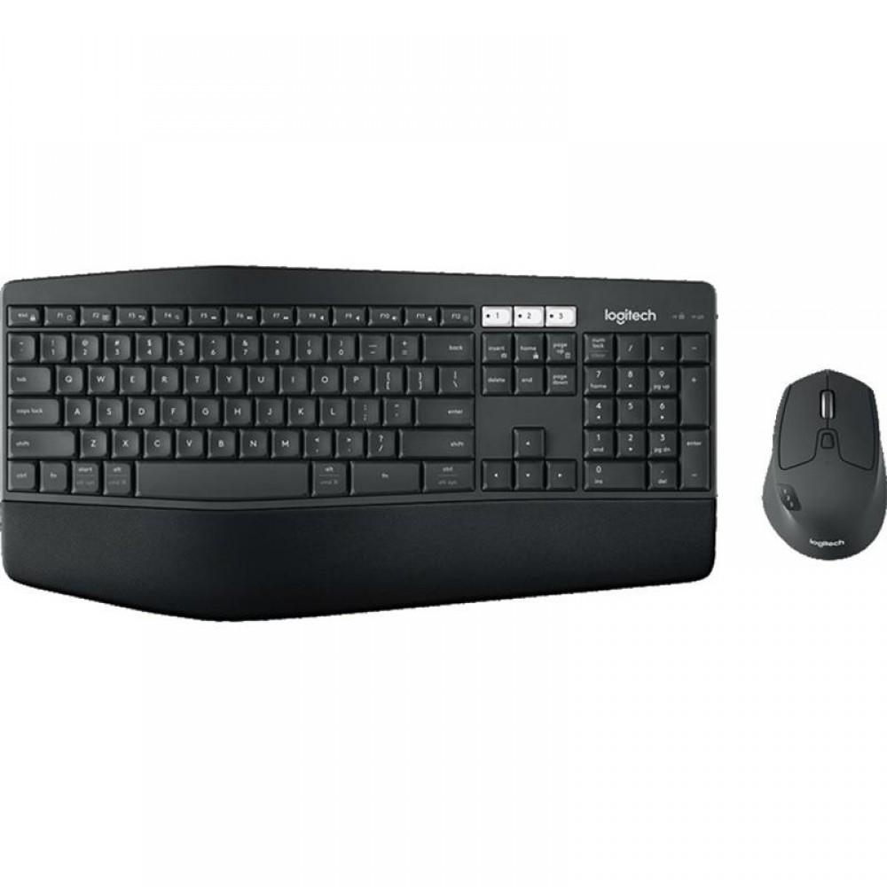 Комплект (клавиатура, мышь) беспроводной Logitech MK850 Black Bluetooth (920-008232)