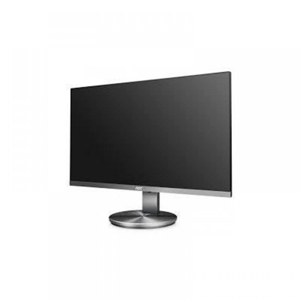 """Монитор AOC 27"""" I2790VQ/BT IPS Silver; 1920х1080, 4 мс, 250 кд/м2, D-Sub, HDMI, DisplayPort, динамики 2х2 Вт"""