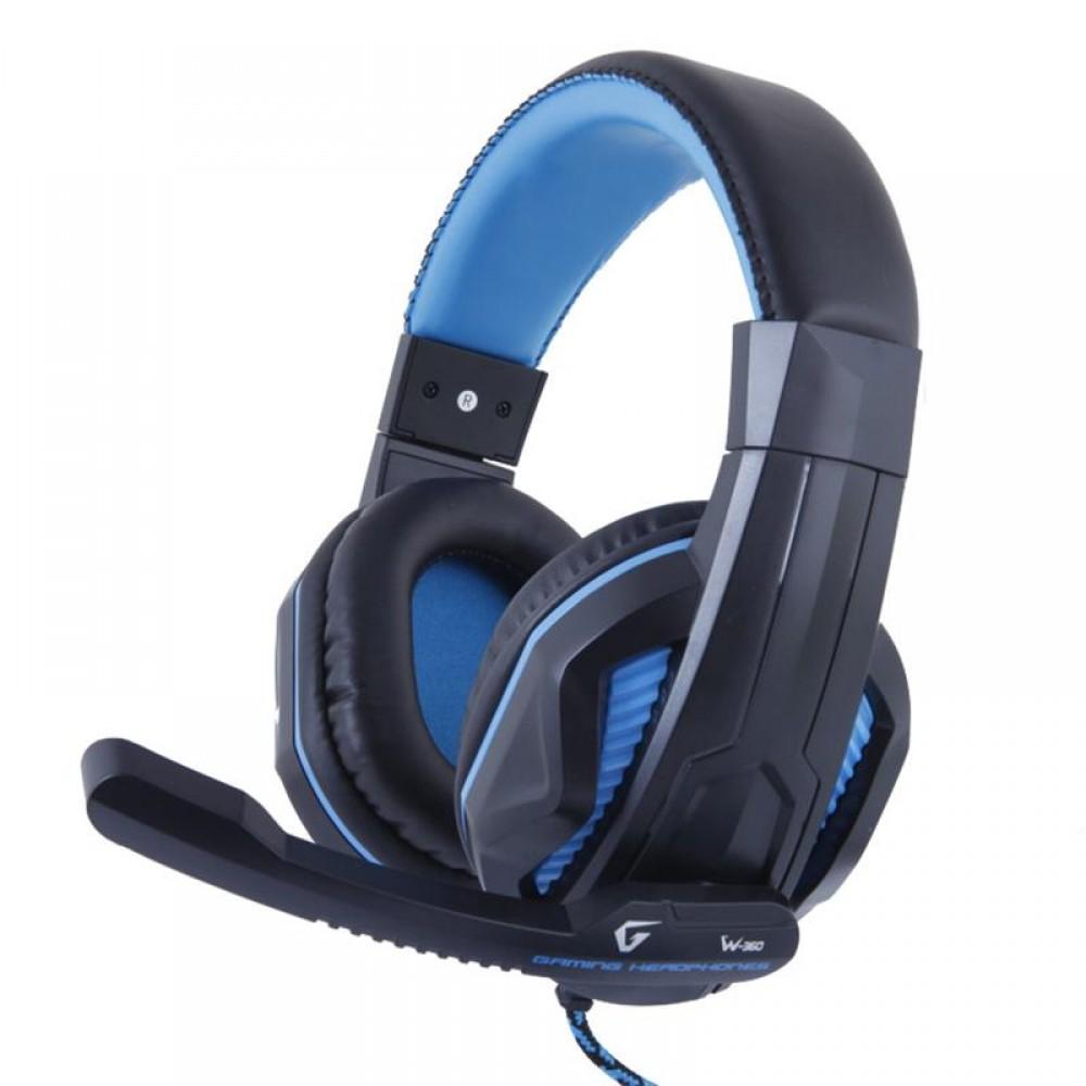 Гарнитура Gemix W-360 Black/Blue