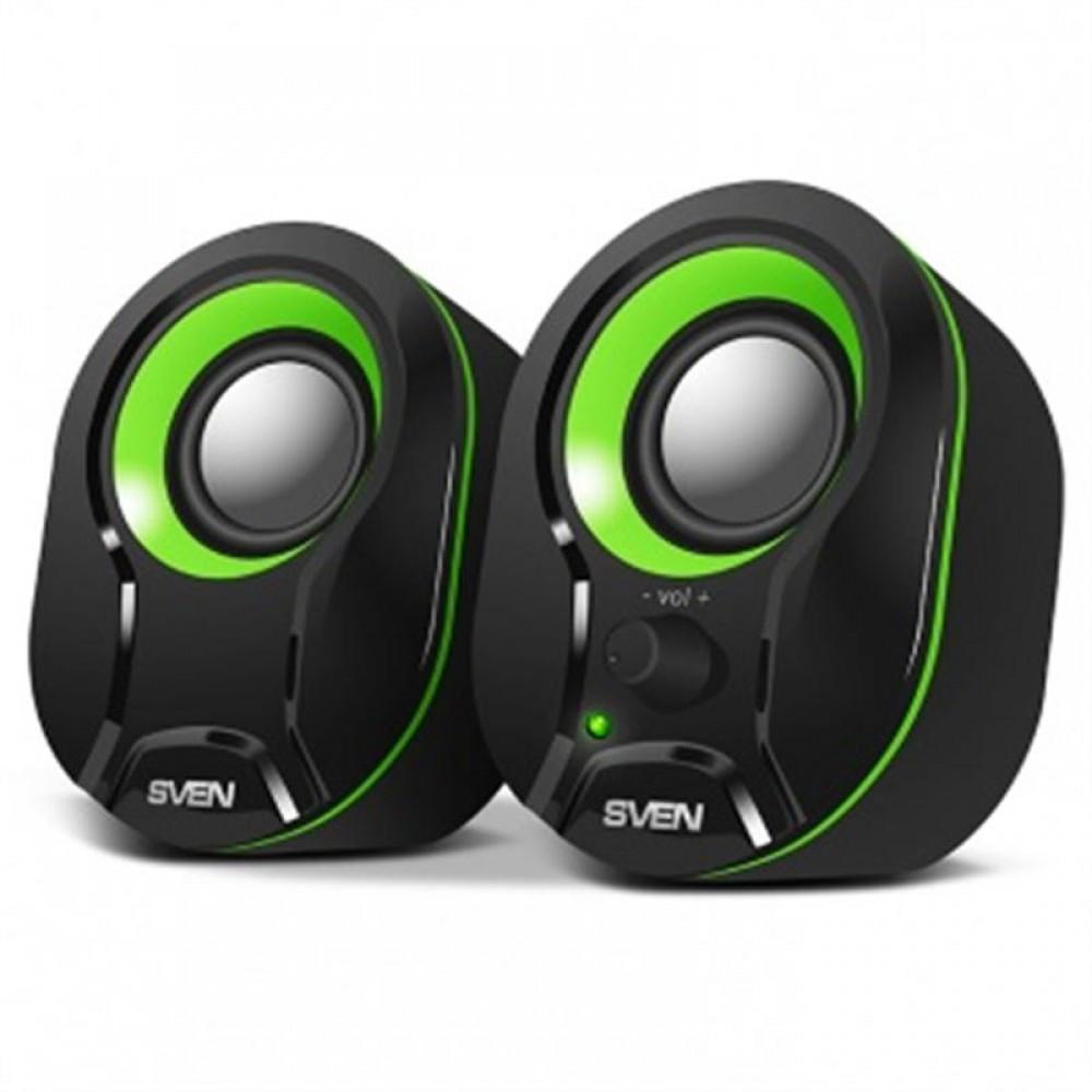 Акустическая система Sven 290 Black/Green