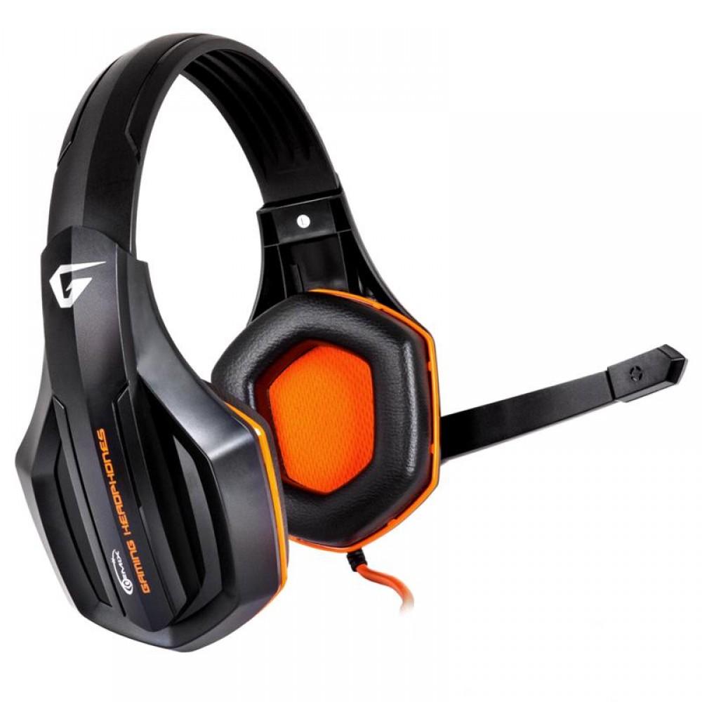 Гарнитура Gemix W-330 Gaming Black/Orange (04300087)