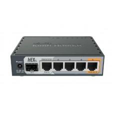 Маршрутизатор MikroTik RouterBOARD RB760iGS hEX S (880MHz/256Mb, 5хGE, 1xSFP)