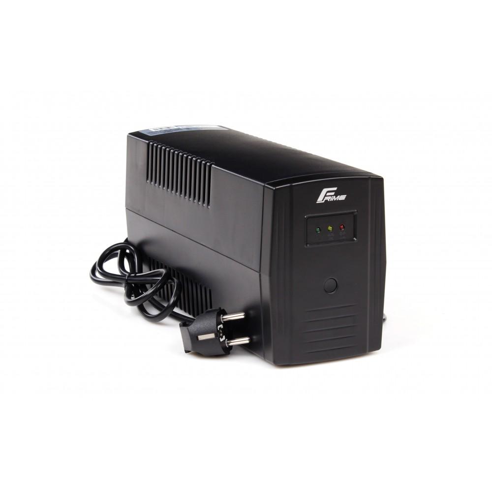 ИБП Frime Standart 650VA FST650VAPU, Lin.int., AVR, 2 х евро, USB, пластик