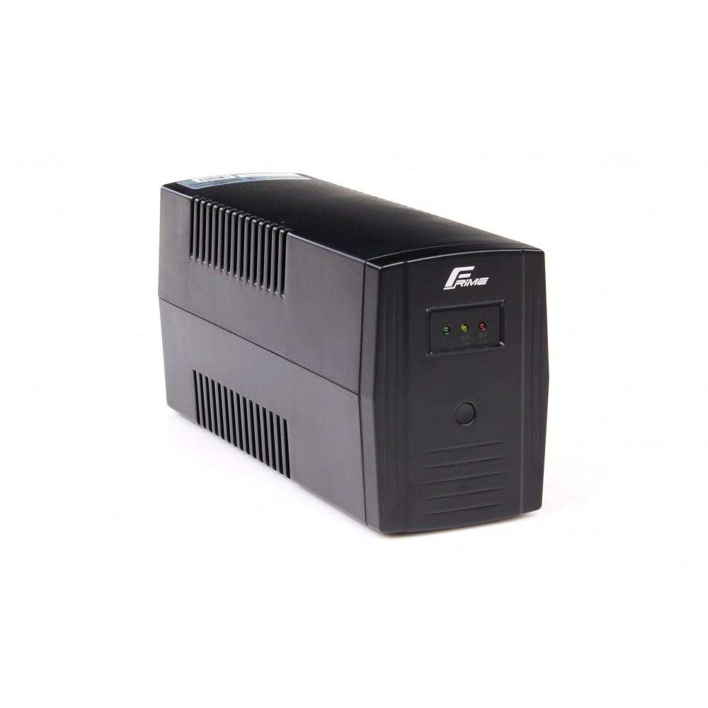 ИБП Frime Standart 850VA FST850VAP,  Lin.int., AVR, 2 х евро, пластик