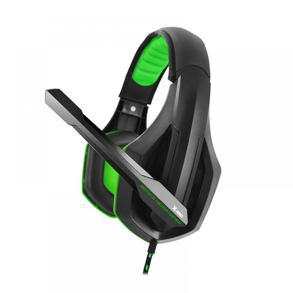 Гарнитура Gemix X-350 Black/Green (04300097)