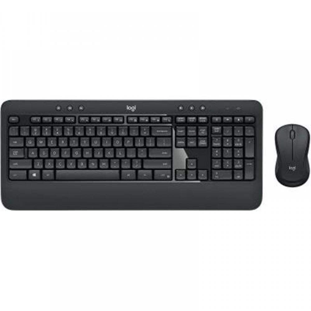Комплект (клавиатура, мышь) беспроводной Logitech MK540 Advanced Black USB (920-008686)