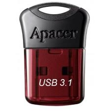 Флеш-накопитель USB3.1 16GB Apacer AH157 Black/Red (AP16GAH157R-1)