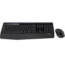 Комплект (клавиатура, мышь) беспроводной Logitech MK345 Combo Black USB (920-008534)