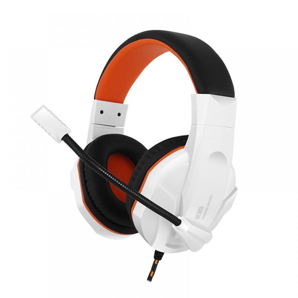 Гарнитура Gemix N20 White/Black/Orange (04300108)