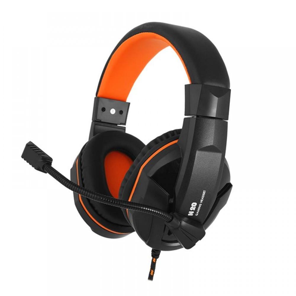 Гарнитура Gemix N20 Black/Orange (04300106)