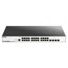 Коммутатор D-Link DGS-3000-28L (4xSFP 1G, 24xGE, L2)