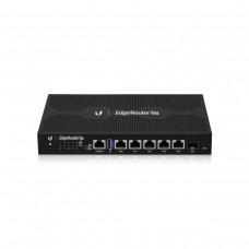 Маршрутизатор Ubiquiti EdgeRouter ER-6P (Quad-Core 1 GHz/1GB, 5x1GE, 1xSFP, passive poe)