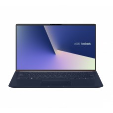 "Ноутбук Asus UX433FLC-A5257T (90NB0MP5-M05300); 14"" FullHD (1920x1080) IPS LED глянцевый / Intel Core i5-10210U (1.6 - 4.2 ГГц) / RAM 8 ГБ / SSD 1 ТБ / nVidia GeForce MX250, 2 ГБ / без ОП / Wi-Fi / BT / веб-камера / Windows 10 Home / 1.26 кг / синий"