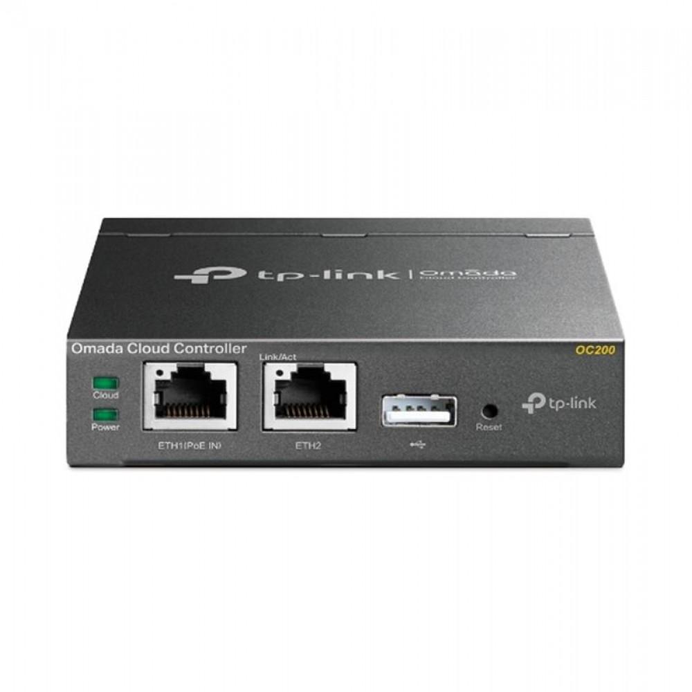 Контроллер точек доступа TP-Link Omada OC200 (2xFE, 1xUSB, 1xmicroUSB)