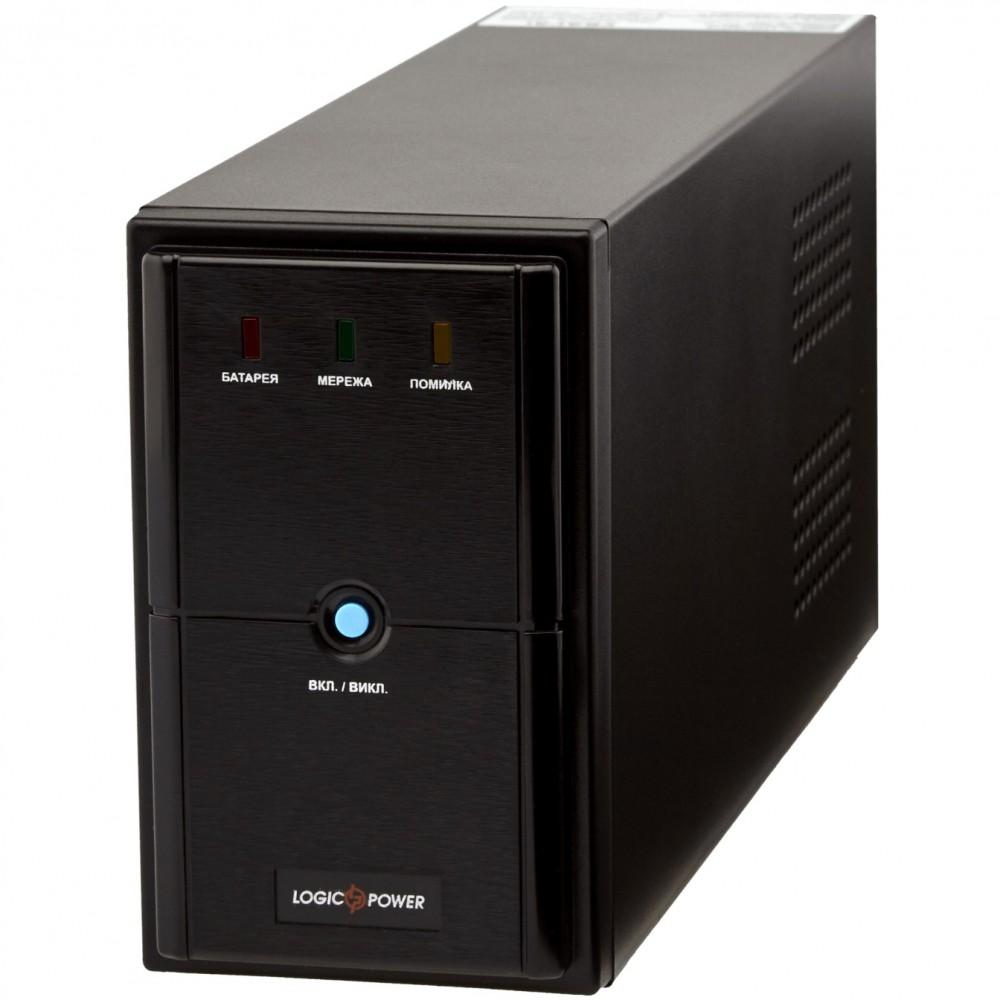 ИБП LogicPower LPM-625VA, Lin.int.,AVR, 2 x евро, металл