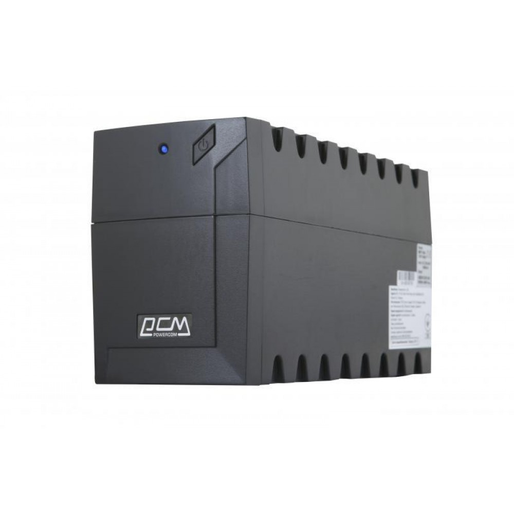 ИБП Powercom RPT-1000AP Schuko, Lin.int., AVR, 3 x евро, USB, пластик (00210219)