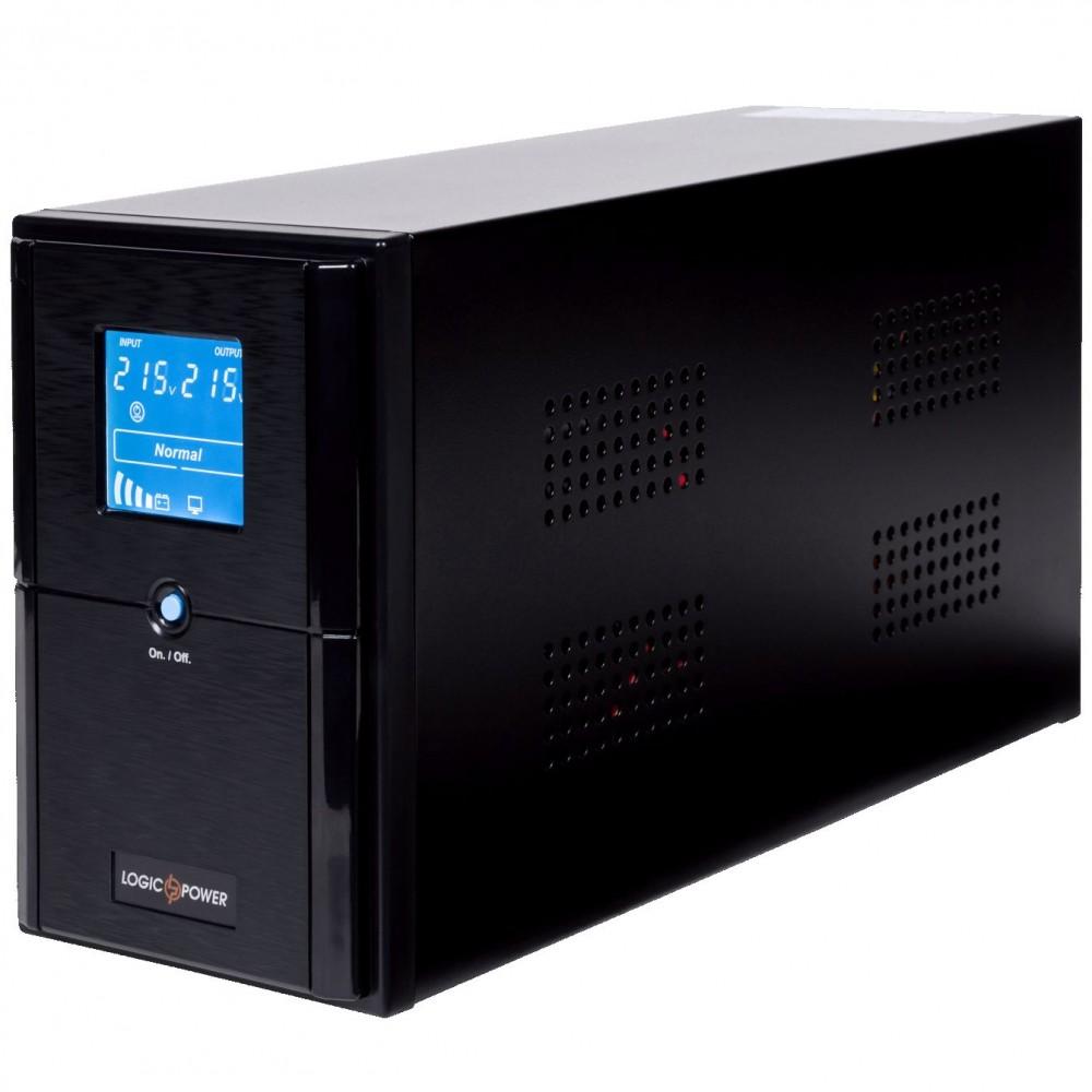 ИБП LogicPower LPM-UL1250VA, Lin.int., AVR, 3 x евро, USB, LCD, металл