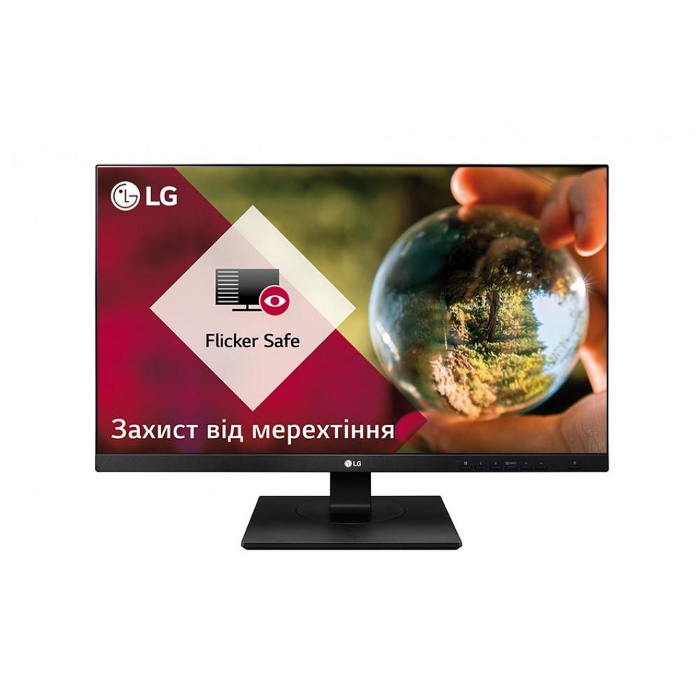 """Монитор LG 27"""" 27BK750Y-B IPS Black; 1920x1080, 5 мс, 250 кд/м2, DisplayPort, DVI, HDMI, 4хUSB3.0, динамики 2х1.2 Вт"""