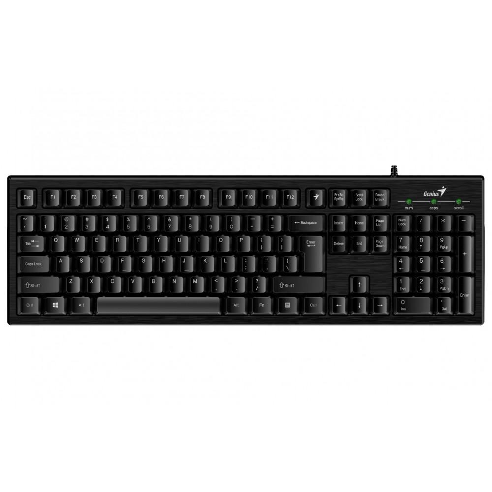 Клавиатура Genius Smart KB-101 (31300006410) Ukr Black USB
